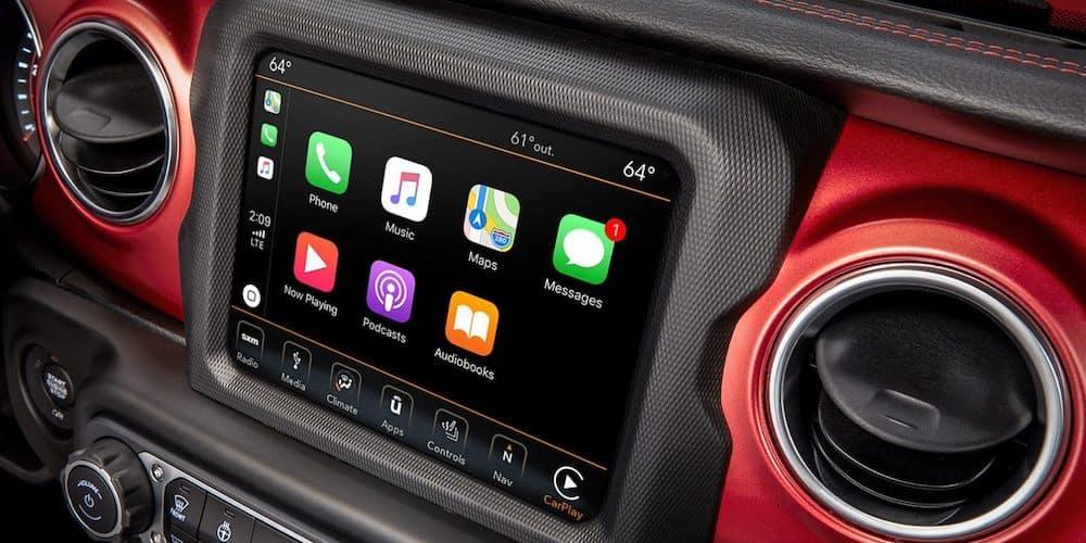 Apple CarPlay in the Jeep Wrangler