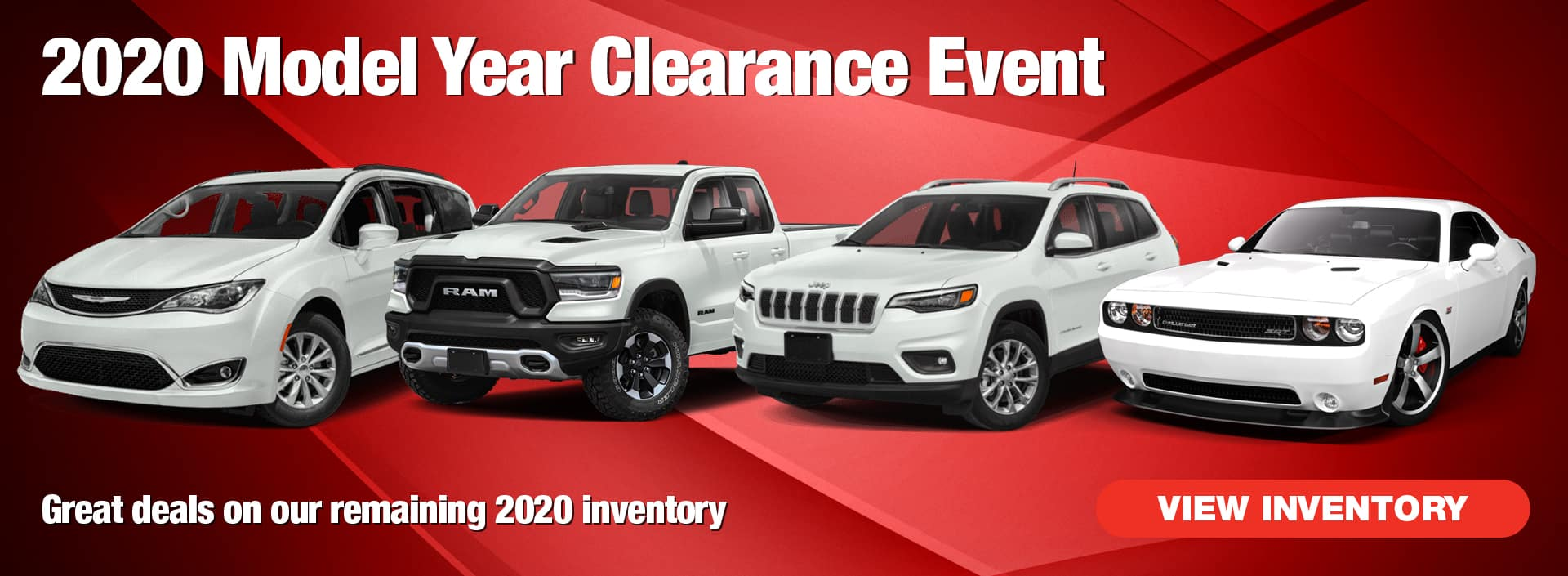 2020 Model Year Clearance Event