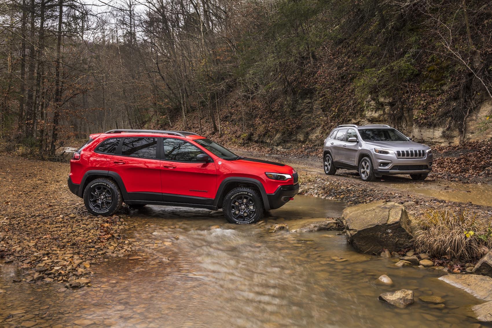 2021 Jeep Cherokee vs Grand Cherokee: Safety