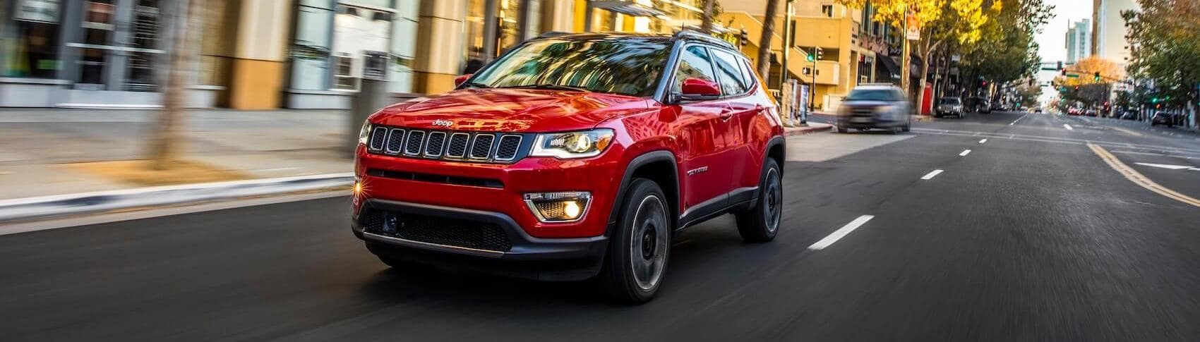 Jeep Compass Trailer Features
