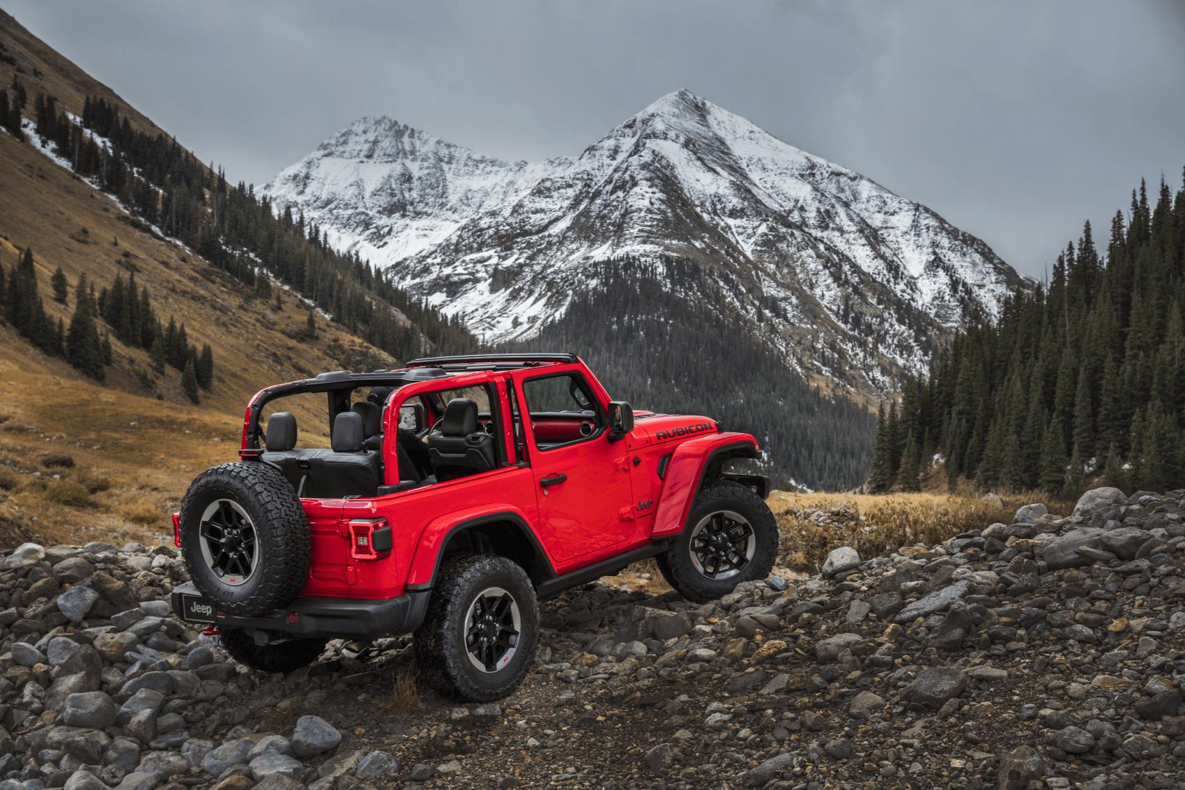 2021 Jeep Wrangler Red Distant Mountain C. Harper CDJR