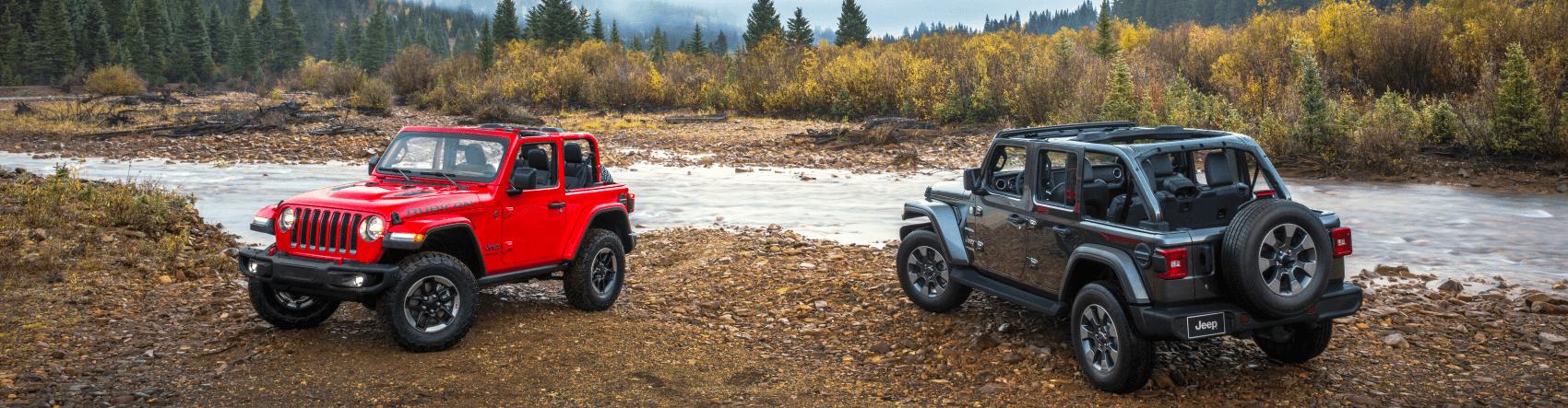 2021 Jeep Wrangler Sahara and Rubicon Mountain Creek C. Harper CDJR