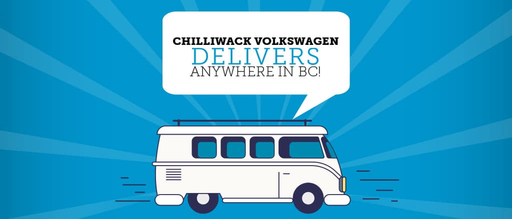 We Deliver at Chilliwack Volkswagen!