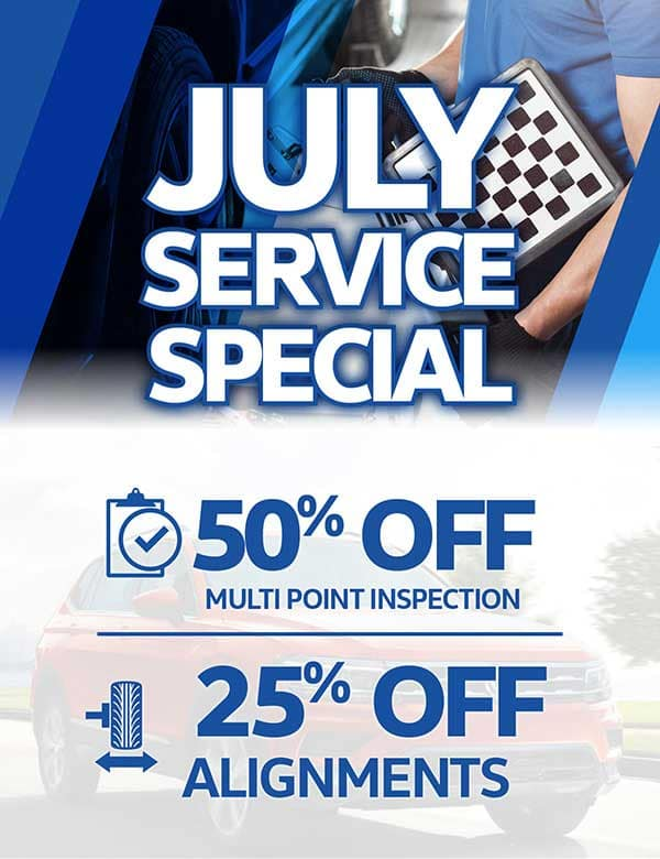 July Service Specials | Chilliwack Volkswagen