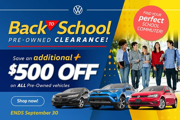 ack to School Sale