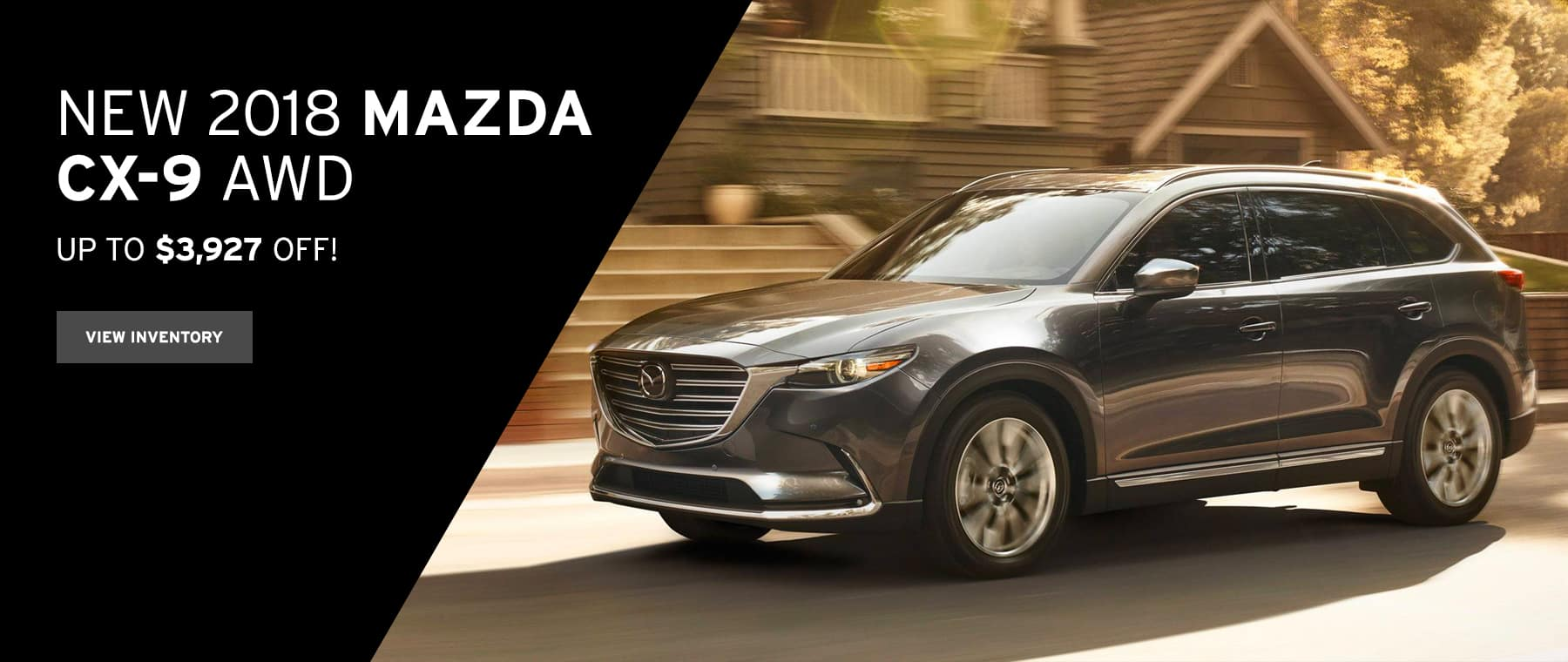 CX-9 October Lease Offer