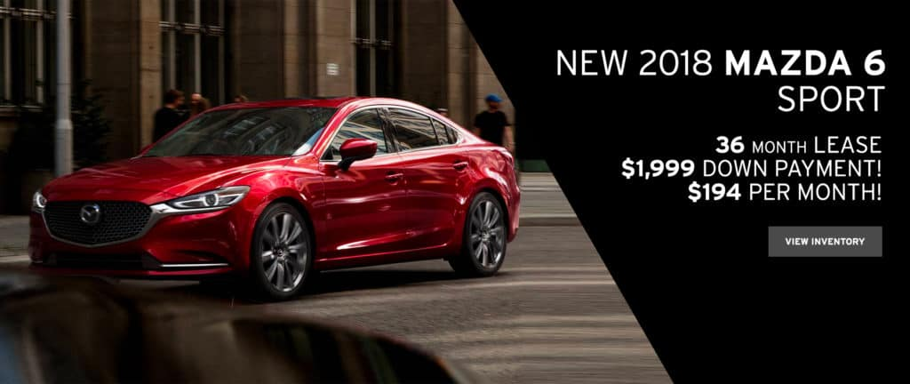 Mazda6 Sport Lease Special