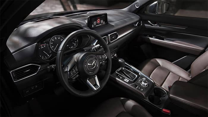 2019 Mazda CX-5 Front Interior Seating and Technology Dashboard Features