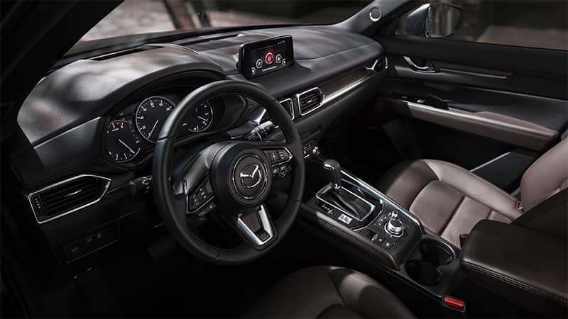2019 Mazda CX-5 Interior Dashboard and Front Seating