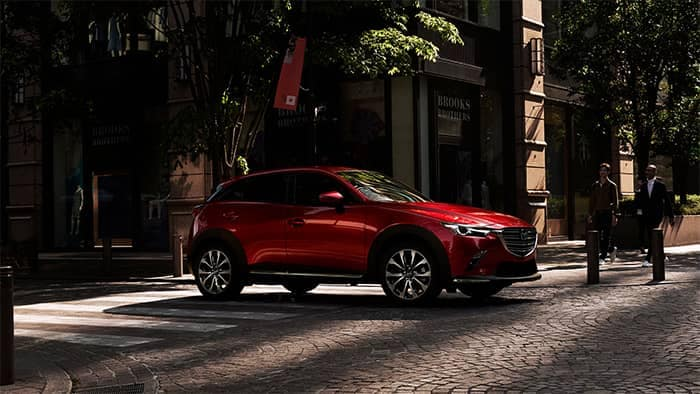 2019 Mazda CX-5 at a intersection