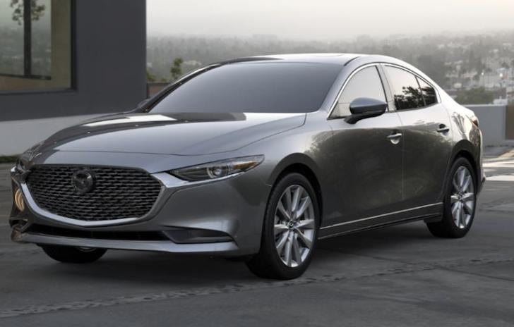 New 2019 Mazda3 Select Base FWD 4D Sedan