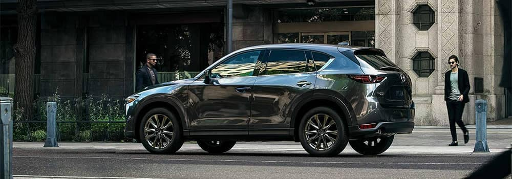 Mazda CX-5 Parked On Side of Road