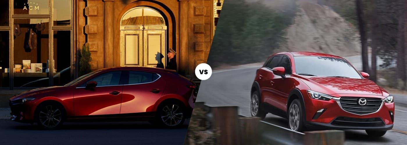 Mazda3 vs. Mazda CX-3