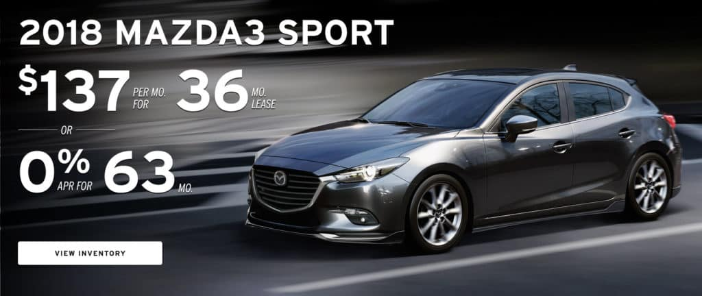 Lease Special - Mazda3