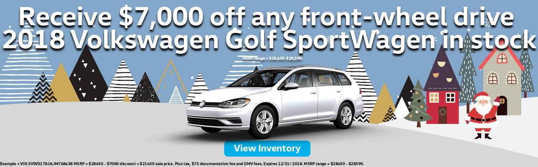 Golf SportWagen Discount