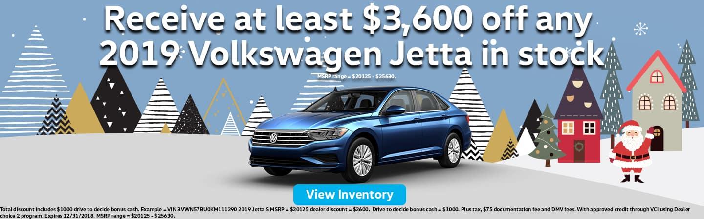 Volkswagen Jetta Discounts