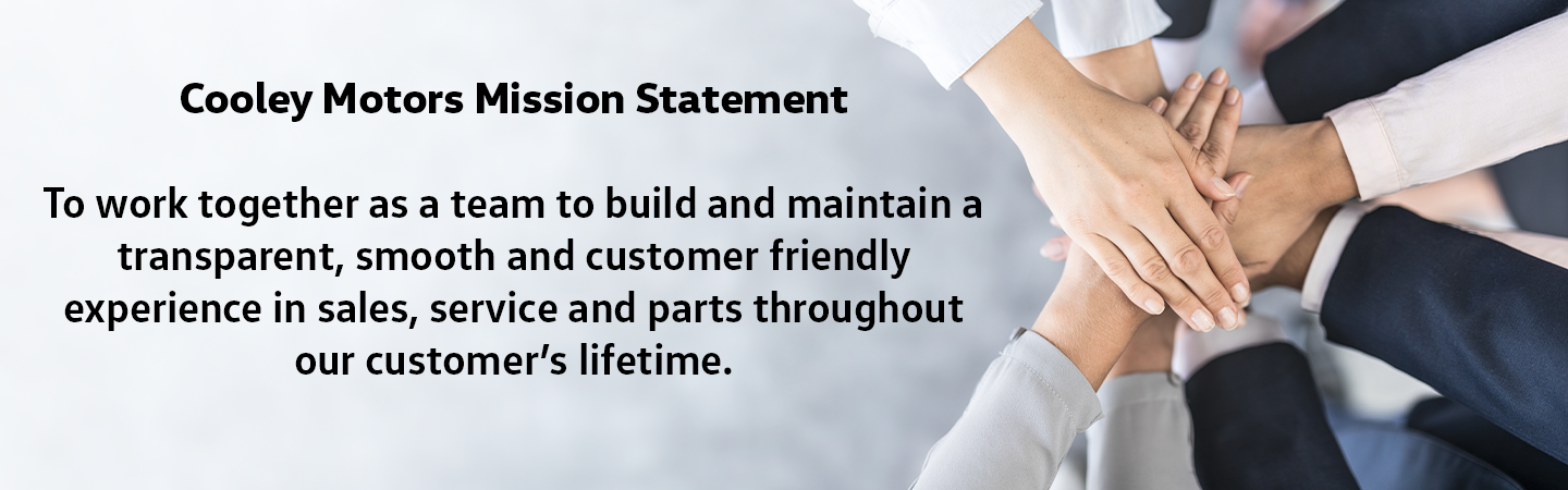 Cooley Motors Mission Statement