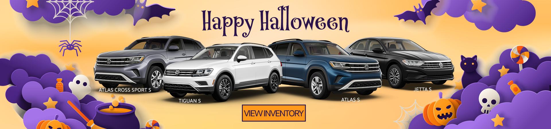 Happy Halloween Inventory Banner
