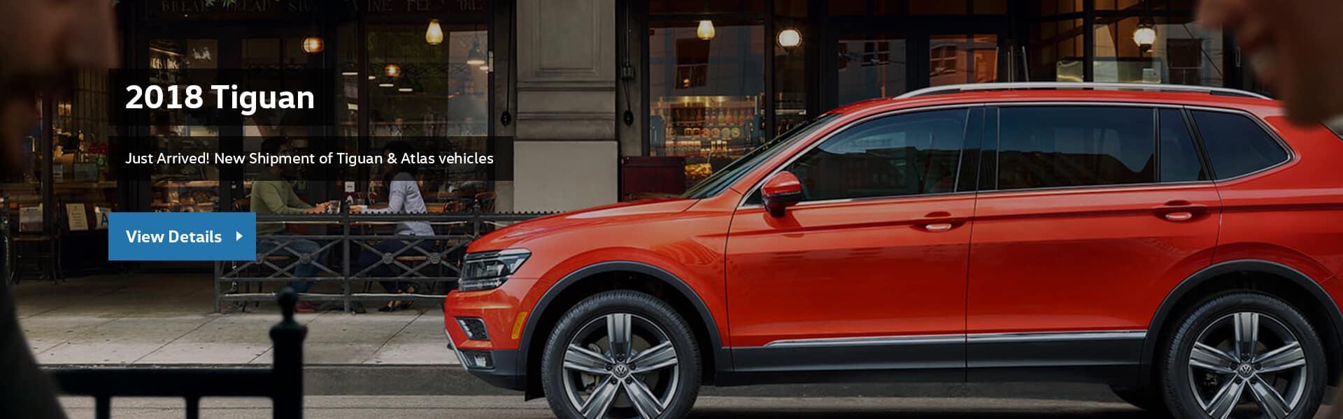 2018 Tiguan, Cowell Volkswagen in Richmond, Metro Vancouver, car dealership