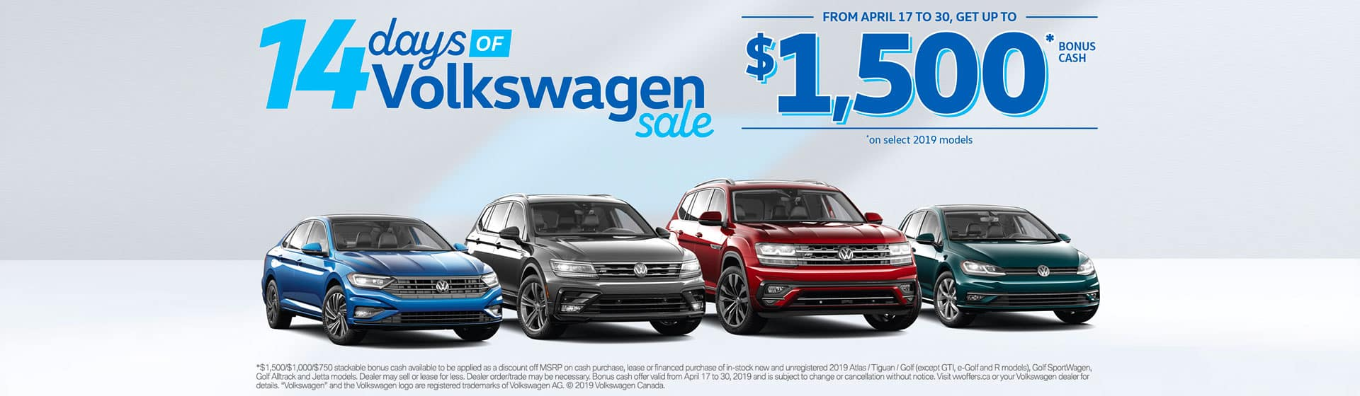 April 2019 Sales Event