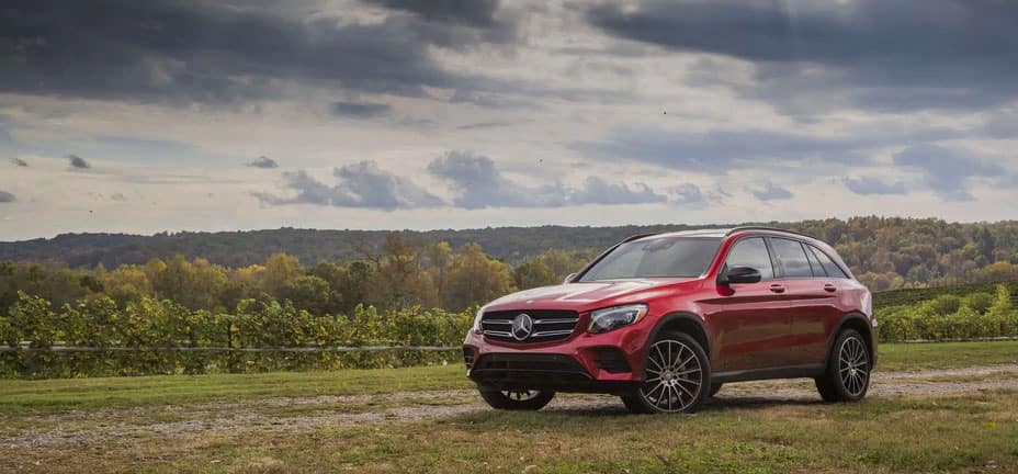 2017 2018 Mercedes Benz Glc Suv Earns Iihs Top Safety
