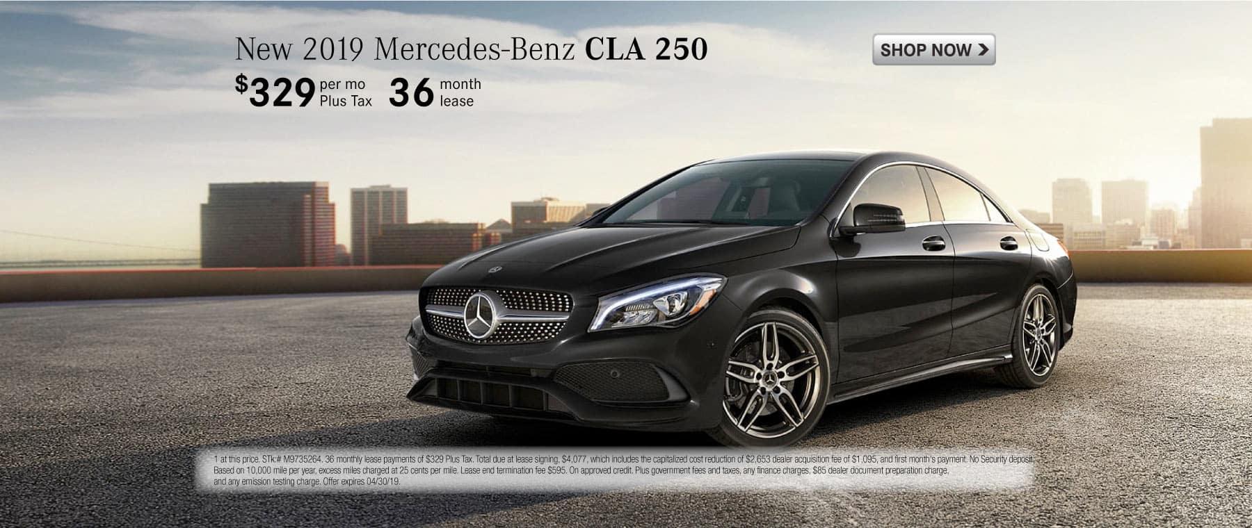2019 Mercdes-Benz CLA 250