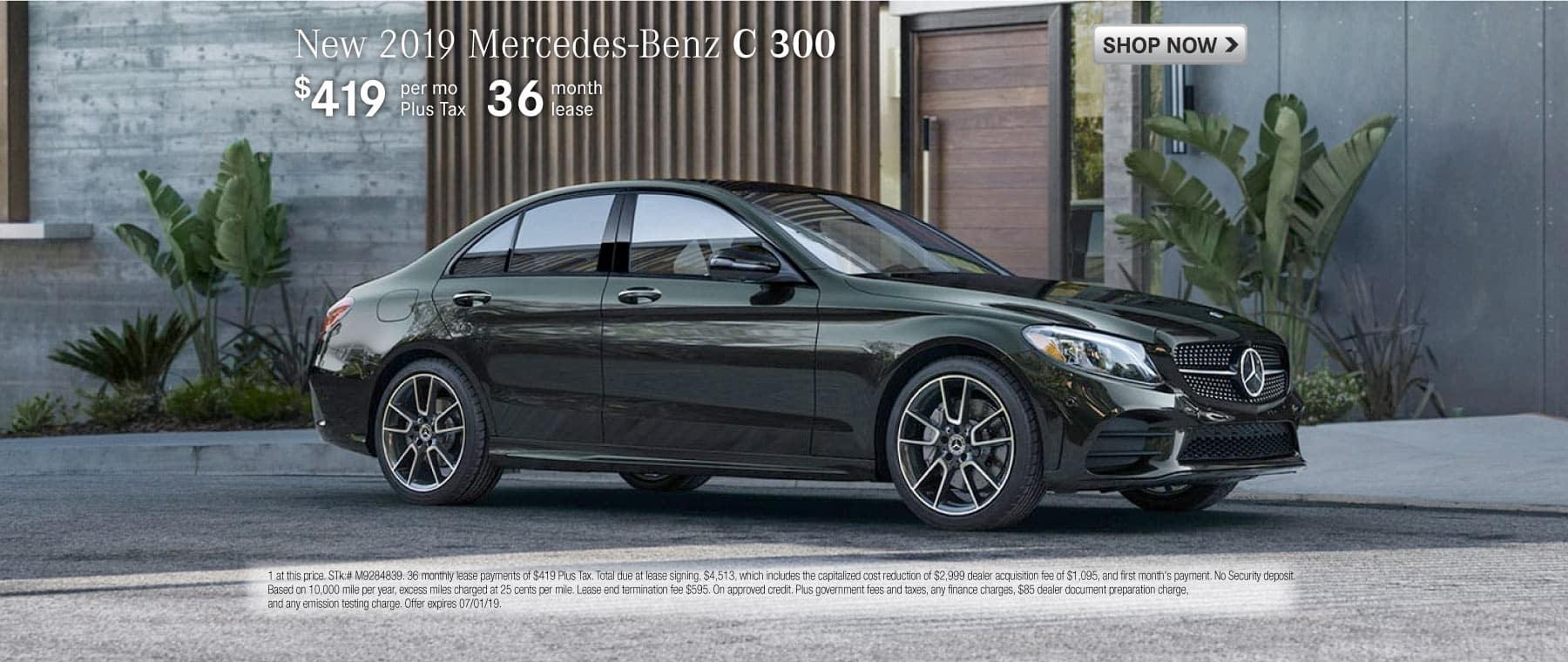 new 2019 mercedes-benz c 300