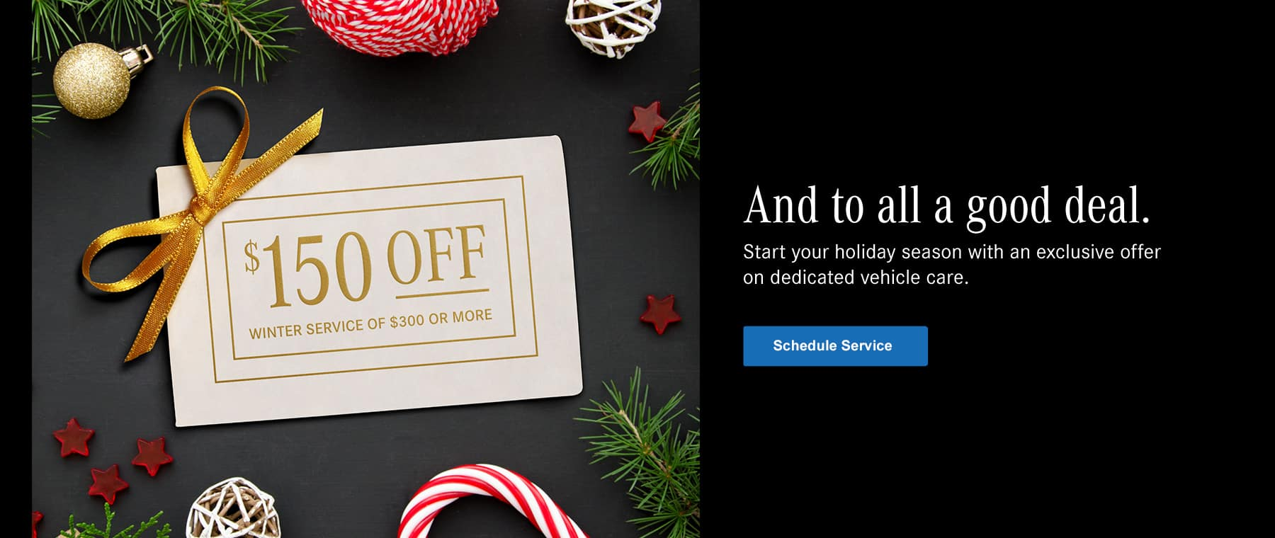 $150 off winter service of $300 or more