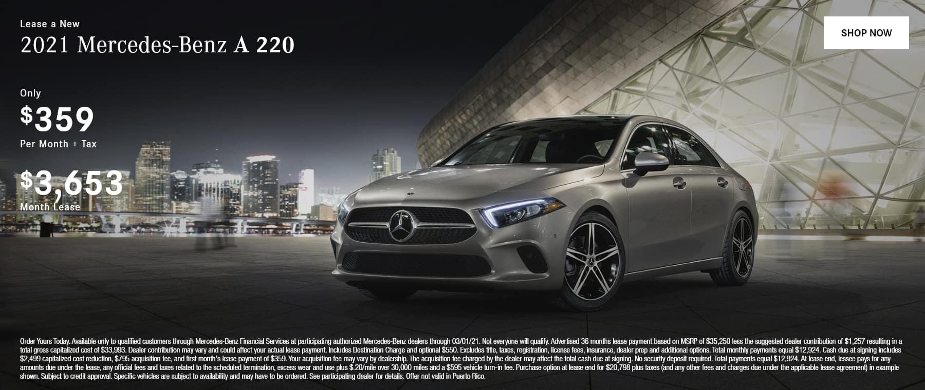 2021 Mercedes-Benz A 220