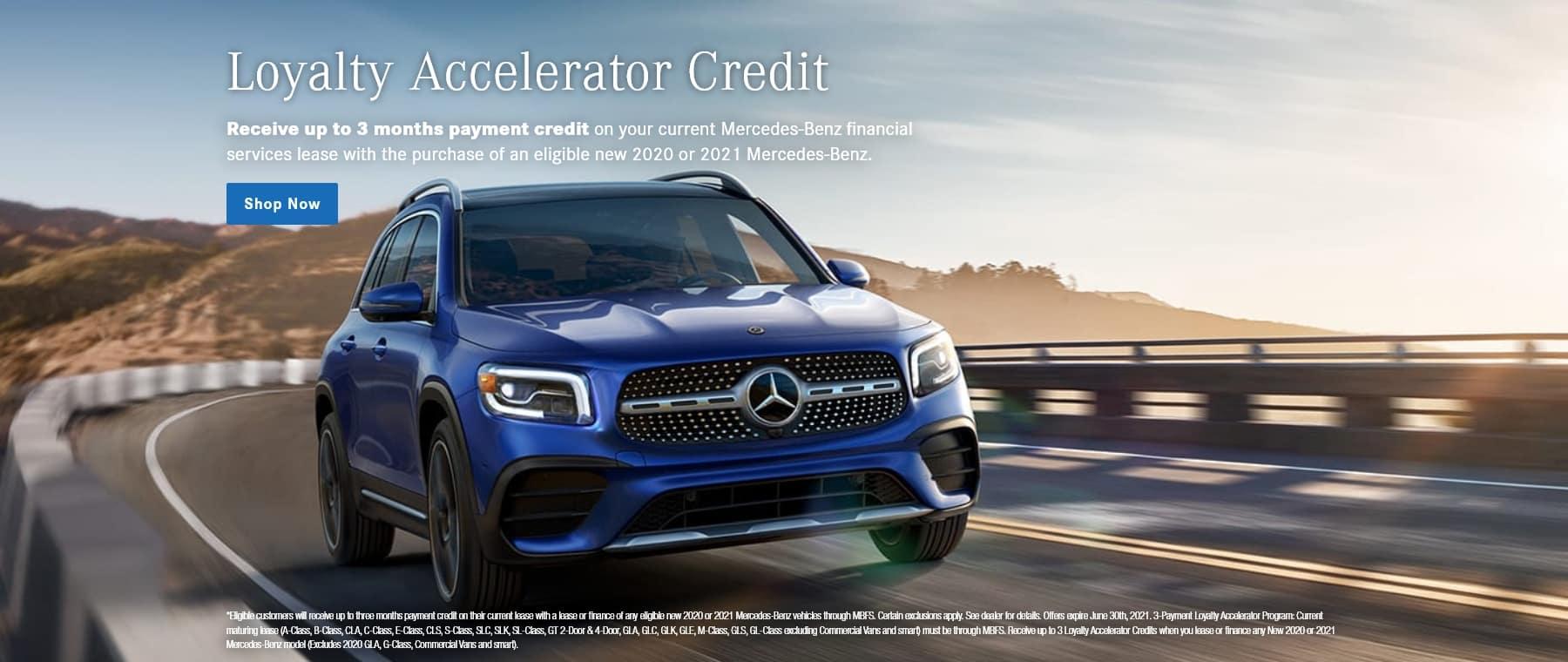 Loyalty Accelerator Credit