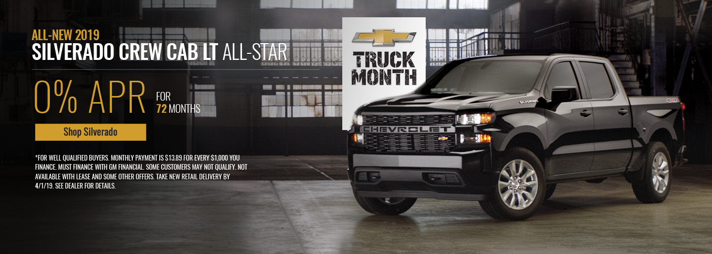 Truck Month 0% APR