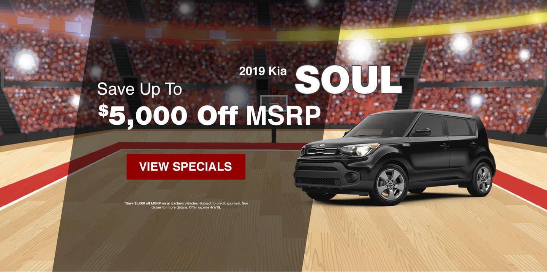 2019 Kia Soul March Special