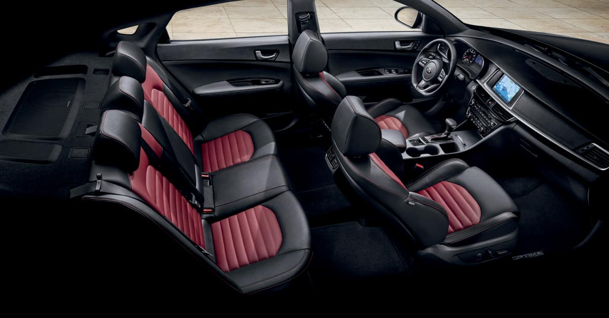 2019 Kia Optima Interior & Technology