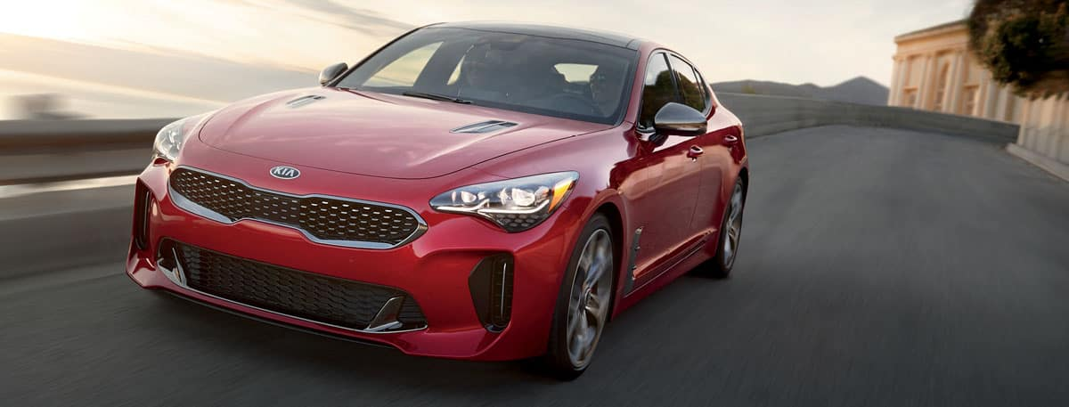 2019 Kia Stinger Header