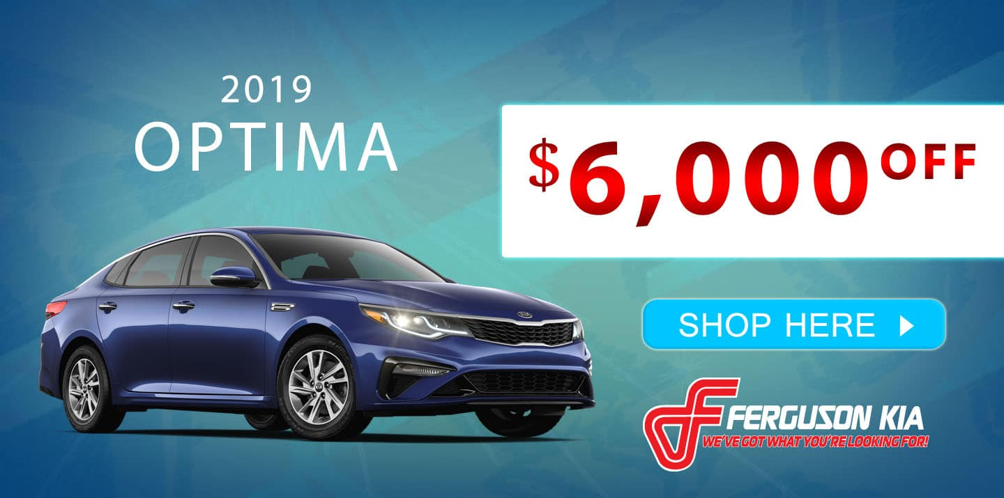 2019 Optima Special Offer