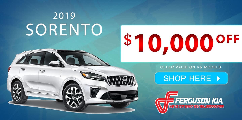 2019 Sorento Special Offer