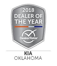 2018 Kia Dealer of the Year - Oklahoma by DealerRater