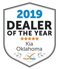 2019 Consumer Satisfaction Award from DealerRater