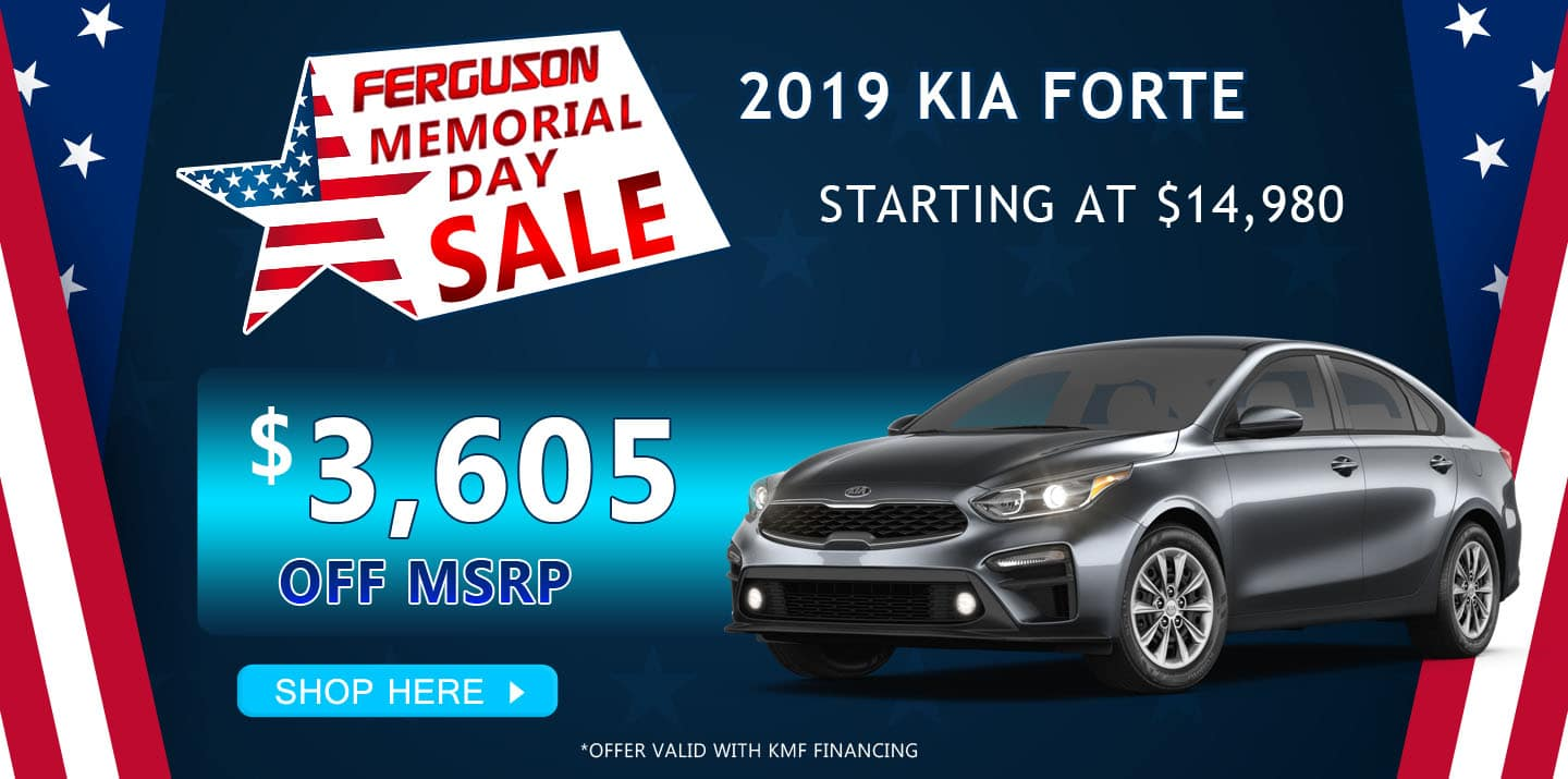 May 2019 Kia Forte Special