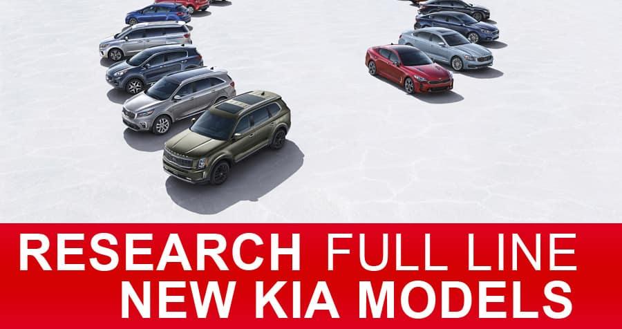 New Kia Models