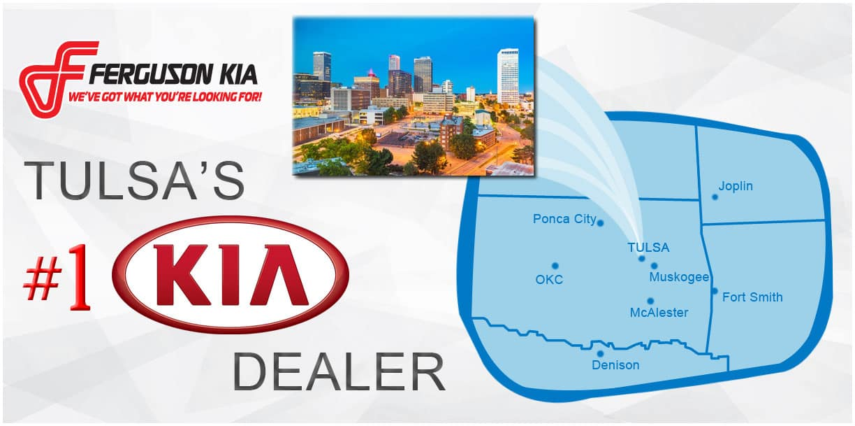 Ferguson Kia: Serving Tulsa, OK and Beyond Header