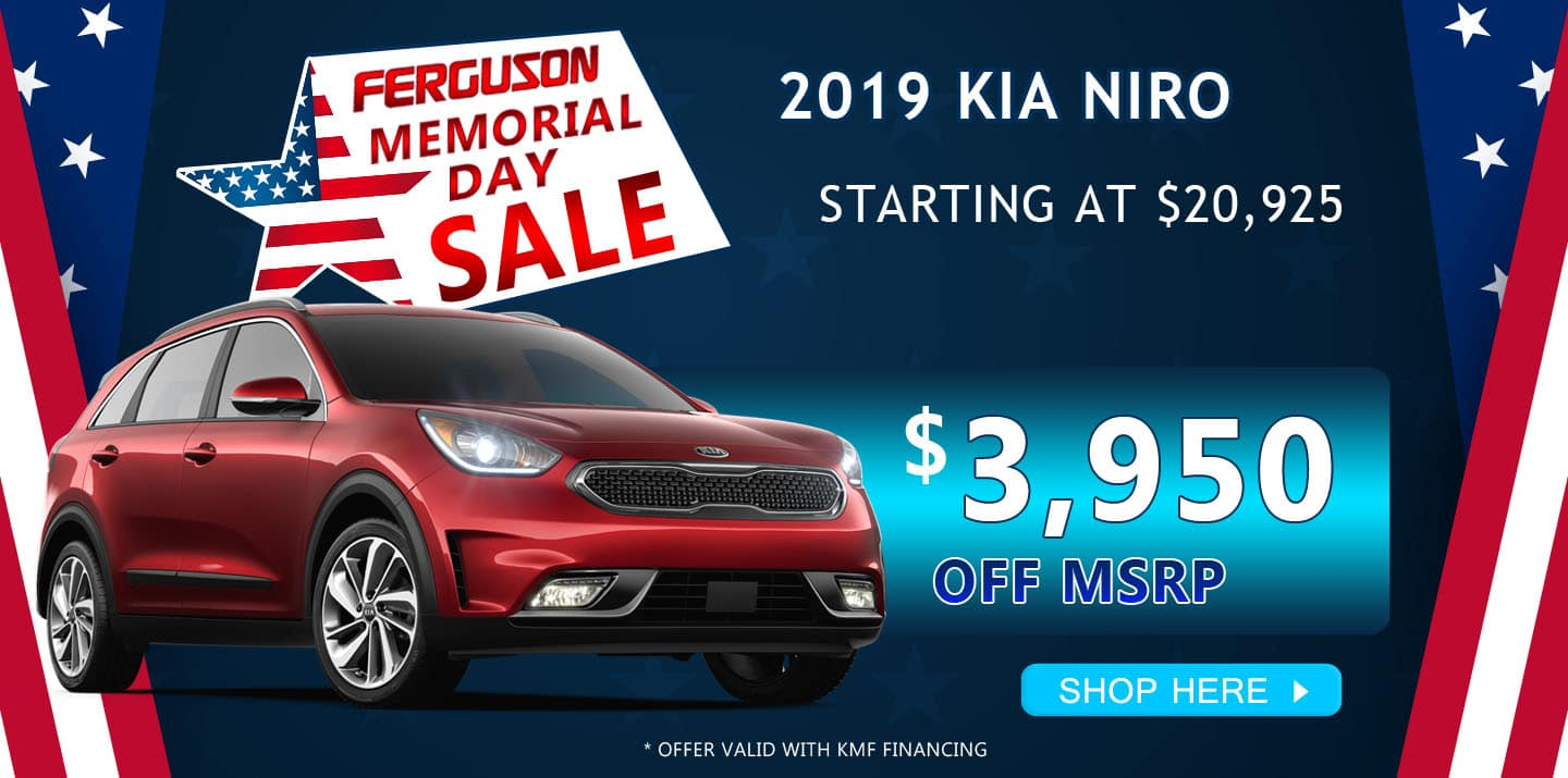 May 2019 Kia Niro Special