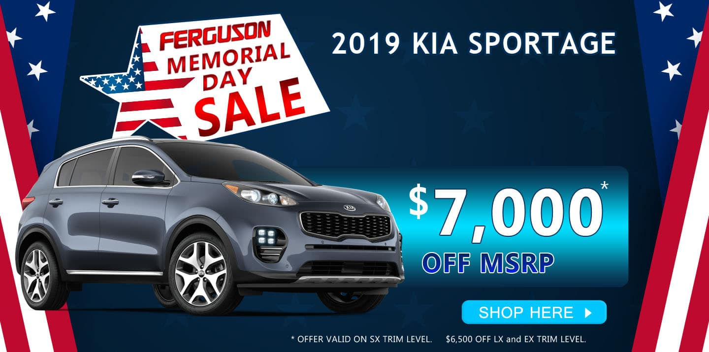 May 2019 Kia Sportage Special