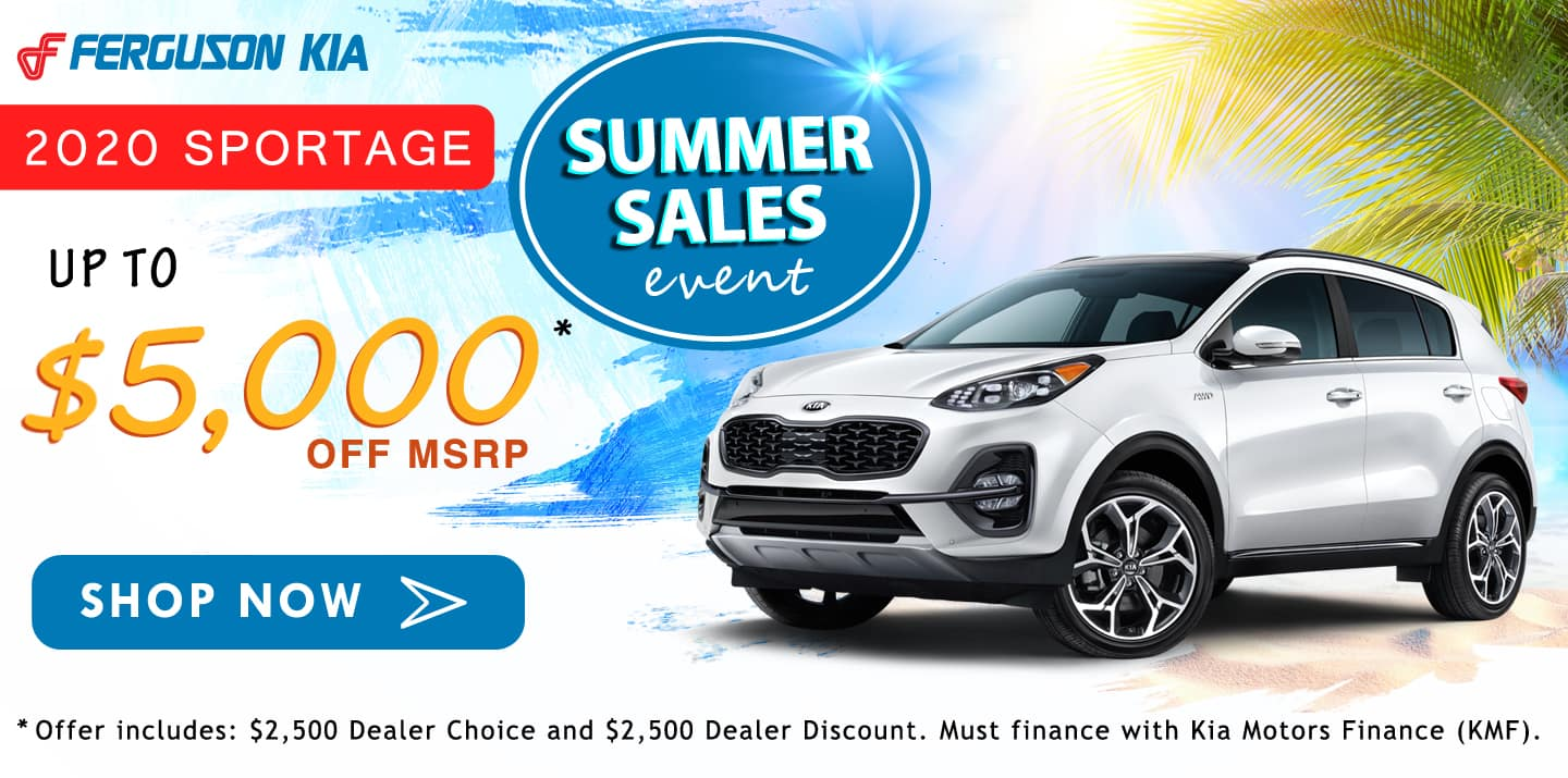 August 2020 Sportage Special