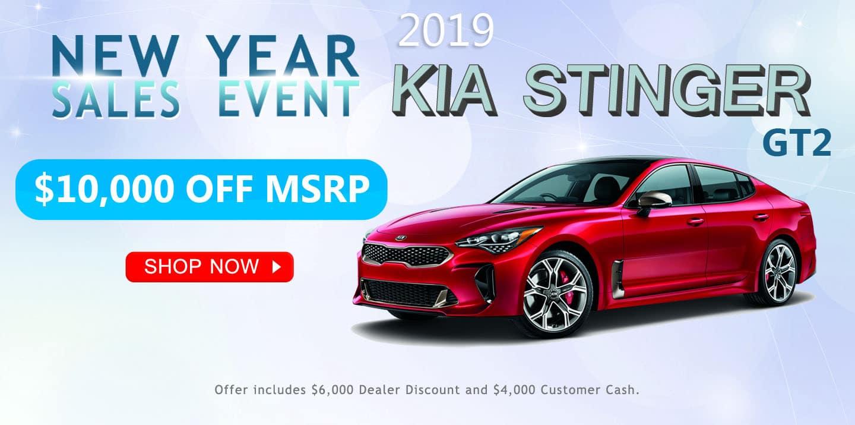 2019 Kia Stinger GT2