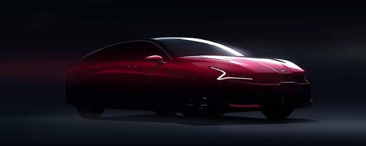 2021 Kia Optima front