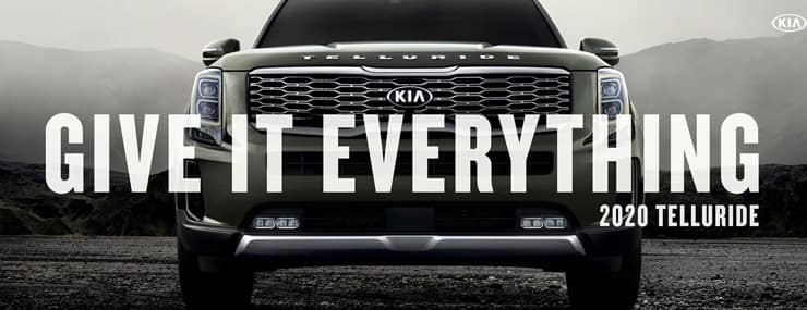 2020 Kia Telluride Give It Everything