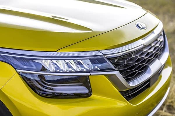2021 Kia Seltos Headlight