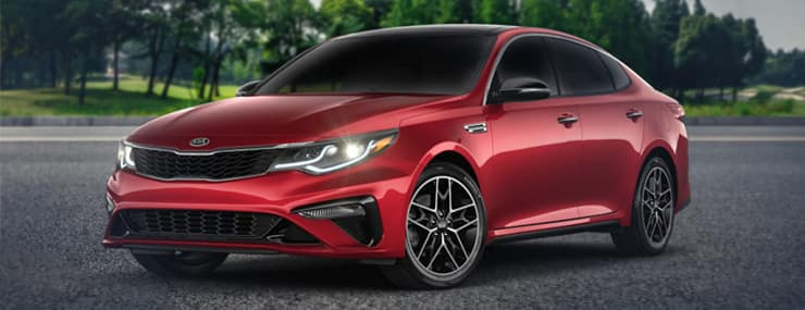 2020 Kia Optima Special Edition trim | Ferguson Kia