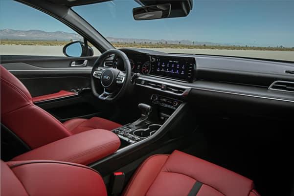 Kia K5 interior